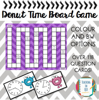 Donut Time Board Game