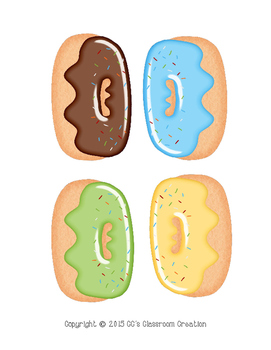 Donut Time Role Play Learning Colors