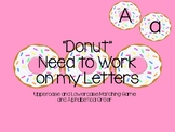 Donut Uppercase Lowercase Match