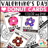 Donut Valentines for Students