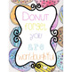 Donut Watercolor Theme Poster FREEBIE