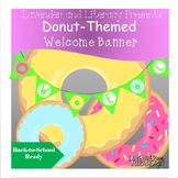 Donut Welcome Banner-Back to School Ready