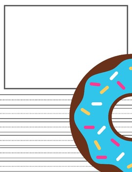 Donut Writing Paper!