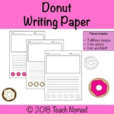 Donut Writing Paper