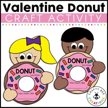 Donut You Know How Much I Like You Cut and Paste