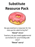 Donut theme Substitute Resource