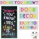 Donut you know?  bulletin board or door decor