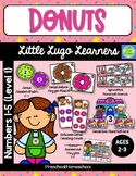 Donuts 5 Numbers (1-5) Lessons