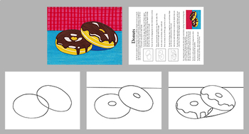 Donuts: A Step by Step Art Lesson