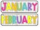 Donuts Calendar Set