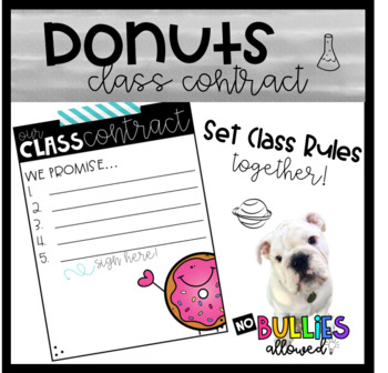 Donuts Classroom Contract