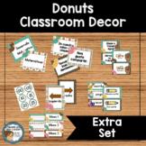 Donuts Classroom Decor (Extras) SPANISH