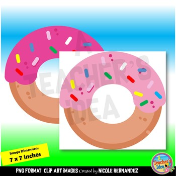 Donuts Clip Art for Teachers