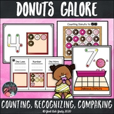 Donuts Galore Math Activities