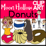 Donuts - Moon Hollow Clip Art