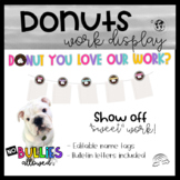 Donuts- Student Work Display