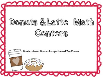 Donuts and Lattes Math Centers