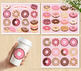 Donuts and Sprinkles Clipart, Doughnuts, Summer, SVG