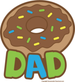 Donuts for Dad 2017 Cards