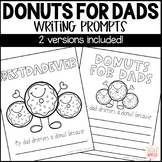 Donuts for Dads Writing Prompt