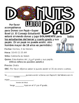 Donuts with Dad
