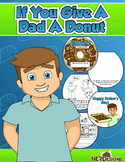 Donuts with Dad- Father's Day Craftivity: If you Give A Da