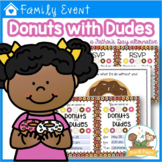 Donuts with Dudes Editable Father's Day Kit