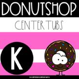 Donutshop Center Tubs