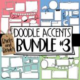 Doodle Accents Clipart BUNDLE #3