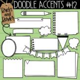 Doodle Accents Clipart Set 12