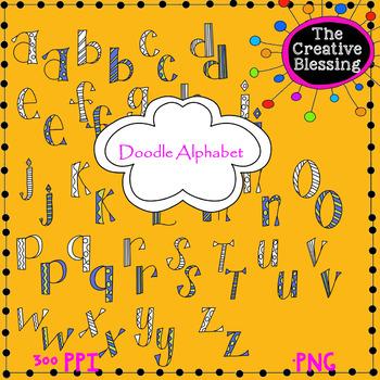 Doodle Alphabet 3