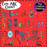 Doodle Alphabet (ABC) Clip art