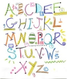 Doodle Alphabet Clip Art