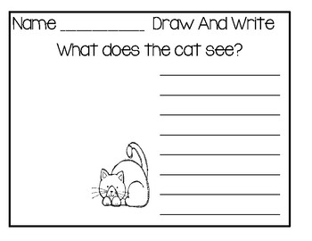 Doodle And Write Set 2 - Writing Activity