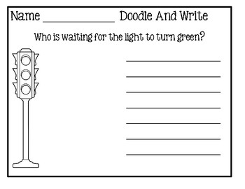 Doodle And Write Set 4 - Writing Activity