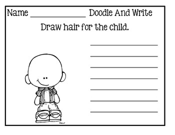 Doodle And Write Set 5 - Writing Activity