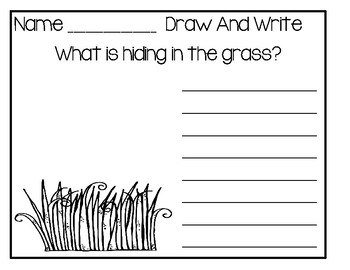Doodle And Write Set 1 - Writing Activity