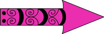 Doodle Arrows Clip Art
