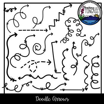 Doodle Arrows Clipart