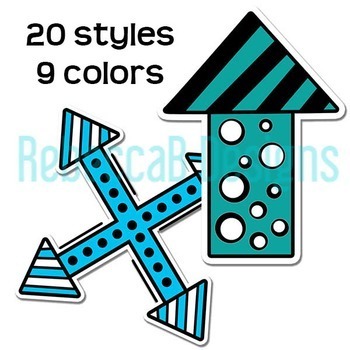 Colored Arrows Clip Art