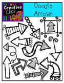 Doodle Arrows {Creative Clips Digital Clipart}