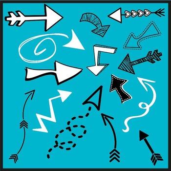 Doodle Arrows FREEBIE!