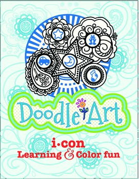 Doodle Art 4 Letter Words Worksheet - Pac 4