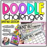 Doodle Art Challenges- Animals