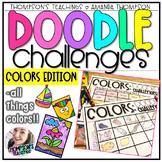 Doodle Art Challenges- COLORS