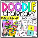 Doodle Art Challenges- CVC Word Families