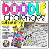 Doodle Art Challenges- GRAMMAR
