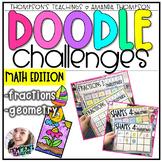 Doodle Art Challenges- MATH