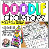 Doodle Art Challenges- WORD WORK