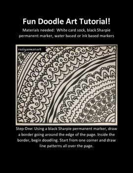 Doodle Art Fun Tutorial!!